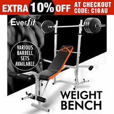 Weight Bench Press Dumbbell Barbell Gym Fitness Exercise Equipment