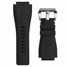 24mm INFANTRY Army Military Waterproof Rubber Silicone Wrist Watch Band Strap