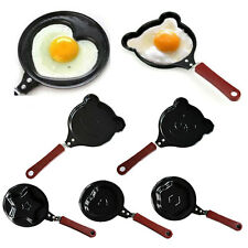 Mini Heart Shape Egg Pancake Non-Stick Fry Frying Cook Kitchen Breakfast Pan New