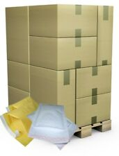 PALLETS OF GOLD WHITE BUBBLE PADDED ENVELOPES MAILERS BAGS