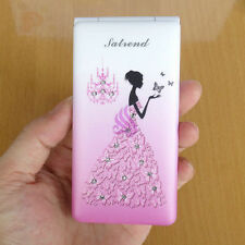 fashion Lovely woman cell phone gift quad band camera D11 Flip mobile phone