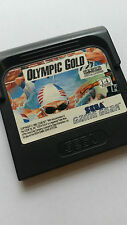 * Sega Game Gear Game * OLYMPIC GOLD  * cart only