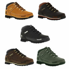 New Timberland Eurosprint Hiker Mens Classic Leather Ankle Boots Sizes UK 8-11