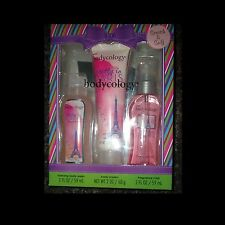Bodycology 3 PC Gift Set Lotion Body Wash Mist 3 Scents to choose from!