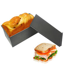 Useful 1xRectangle Nonstick Box Loaf Tin Kitchen Pastry Bread Cake Baking Pan