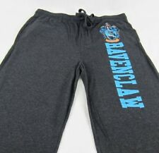 Mens Womens NEW Harry Potter Ravenclaw Gray Pajama Lounge Pants Size S M XL 2XL