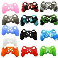 Silicone Protective Skin Case Rubber Grip Gamepad Cover For Sony PS3 Controller