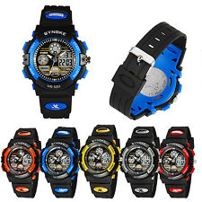 LED Digital Quartz Watch Children Sports Watch Diving Wristwatch 50M Waterproof