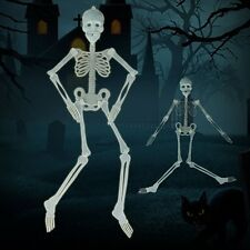 Glow in the Dark Hanging Skeleton - Scary Halloween Party Wall Decoration
