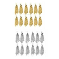 12pcs Tassel Charms Pendants Jewelry Making Findings Jewellry Crafts DIY NEW