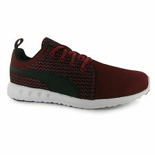 Puma Mens Carson Knit Trainers Lace Up Nylon Runners Sports Shoes Footwear