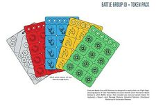 Spartan Games BNIB Halo Battle Group ID & Token Pack HFEX02