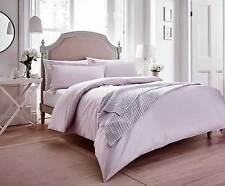 CHATSWORTH Lavender Mauve Lilac Checked Duvet Cover Set by Helena Springfield