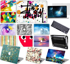 """3D Painted Hard Case Keyboard Cover For Apple Macbook Pro 13""""15""""Air 11""""12""""13inch"""
