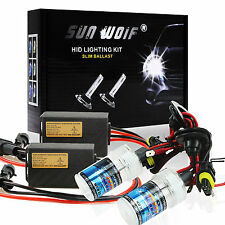 Xenon HID Conversion Kit 35W 55W AC Quick Start Fast Bright Head Lights Free P&P