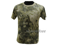 Men Airsoft Camouflage Fast Dry Polyester Tactical Unisex T-shirt MAD Camo M-XXL