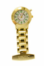 Personalised Nurses / Carers Fob Watch, Pulsations Count & Backlight, Engraved,