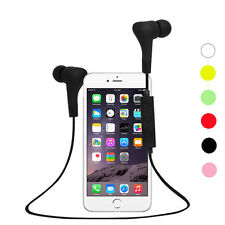 Wireless Bluetooth Earbud In-Ear Stereo Headphones Waterproof Sports Headphones