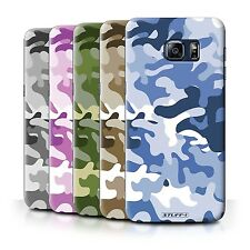 STUFF4 Back Case/Cover for Samsung Galaxy S6 Edge+/Plus/Camouflage Army Navy