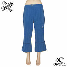 O'NEILL BOARD BABES 'MICRO PANT' 3/4 TROUSERS CAPRI BLUE UK 8 10 BNWT RRP £50