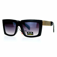 Square Rectangular Sunglasses Super Retro Hipster Fashion Shades Unisex