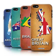 STUFF4 Back Case/Cover/Skin for Apple iPhone 6S/Flag Nations