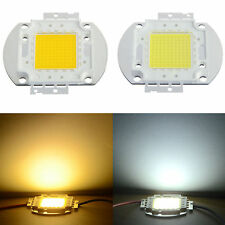 100W Cool/Warm White High Power SMD LED Chip Bead Lamp Bulb For Flood Light