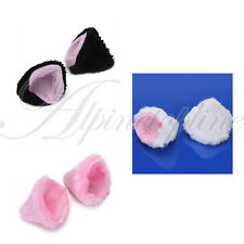 Halloween Gothic Lolita Fancy Cosplay Cat Ear DIY Hair Clip Pin Free Shipping