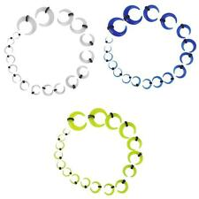 9 pairs Acrylic Horn Taper Flesh Tunnel Ear Stretcher Expander Stretching Plug