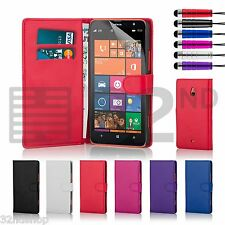 WALLET PU LEATHER CASE COVER FOR Nokia Lumia 1320/1520 FREE SCREEN PROTECTOR