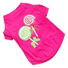 Dog Pet Clothes wondreful Princess Lollipop Vest Sleeveless T-Shirts Apparel