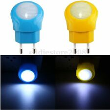 0.7W LED Night Light Auto Sensor Smart Lamp Kids Bedroom Baby Room EU Plug New