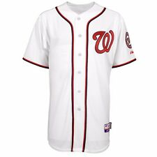 2015 Washington Nationals Authentic On-field Home White Cool Base Jersey