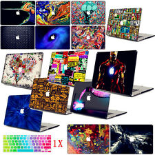 NEW Painting Prints Cut-out Glossy Hard Case Keyboard Cover for Macbook Pro Air