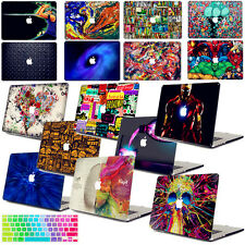 "Painting Hard Case +KB Cover+Screen Protector For Macbook Pro Air 11""12""13""15"" A"