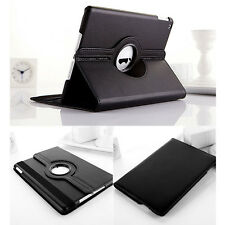 360° Rotating Magnetic PU Leather Smart Case Cover Stand for Apple iPad-2/3/4