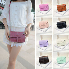 New Women Girl Bag Leather Shoulder Messenger Bag Satchel Crossbody Tote Handbag