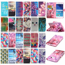 Painted Wallet Leather Flip Case Cover For Samsung Galaxy S5 S4 G357 G386F G580H