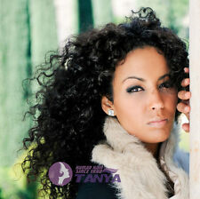 """Queen Hot 100% Indian Remy Human Hair Tight Curly Full/Front Lace wig 12""""-24"""""""