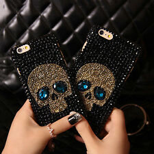 NEW Crystal Skull Skeleton Bone Hard Phone Case Cover Skin For iPhone 4S/5S/6/6P