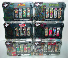 Tech Deck Collectors Storage Tin with 4 Boards - Assorted Designs - N&S