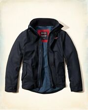 2015 Hollister Men All-Weather Fleece lined outerwear jacket Size L , XL , NWT