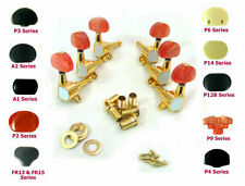 Electric Guitar Golden Plated Tuners 3R3L 233G Plastic Buttons