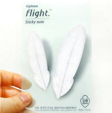 Flight White S/M Sticky Note Post-It Book Decor Bookmark Tab Memo Index Marker