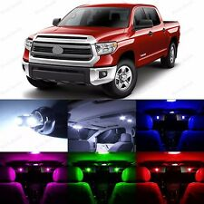 14 x Interior & Plate LED Lights Replacement Package For 2007-2014 Toyota Tundra