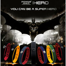 Power Ionics Hero Series IDEA BAND 3000 ions Sports Bracelet Wristband Titanium