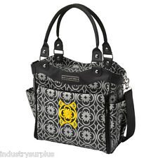 "Petunia Pickle Bottom City Carryall In Casbah Nights Diaper Bag 13"" x 12"" x 5.5"""