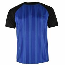 Donnay Mens Poly T Shirt Short Sleeve Tee Top Crew Neck Sports Training Football