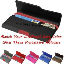Holster Belt Clip Credit Card Wallet Holder Pouch To Hold LifeProof Case Cover