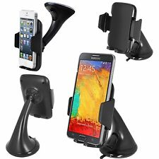 360° Car Holder Windscreen Mount Holder For Various Mobile Phone Models :FM